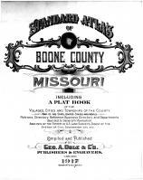 Title Page, Boone County 1917